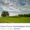 Online-Forum: Nachhaltigkeit – Düsseldorf