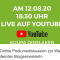 Online Podiumsdiskussion zur Wahl des/der BürgermeisterIn – Dinslaken